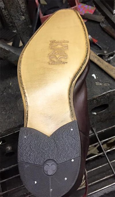 Heel replacement and finished
